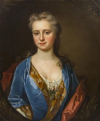 portrait of a lady by continental school