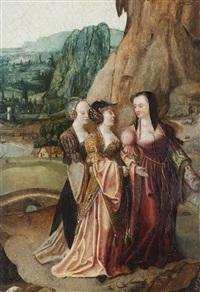 les trois marie au tombeau by jan de beer