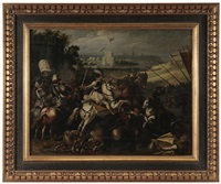 the battle of arques by jacob bunel