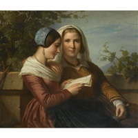the love letter by jan adam janszoon kruseman