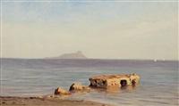 na mořském pobřeží by michael haubtmann