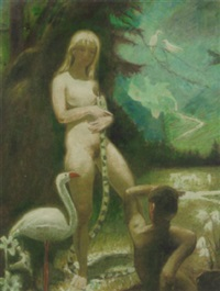 adam and eve by cornelis kloos