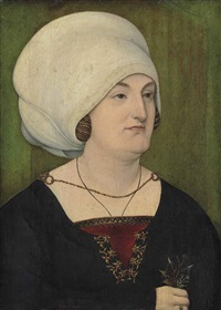 portrait of a lady by german school-swabian (16)