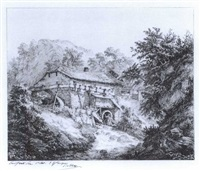 le moulin de montreux by eugene blery