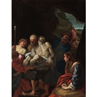 the entombment of christ by annibale carracci