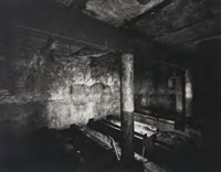 fort bastion, interior chamber, orakei (bank below bastion point) by laurence aberhart