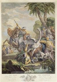 la caza del avestruz by blas amettler