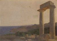 view of aegina by milis