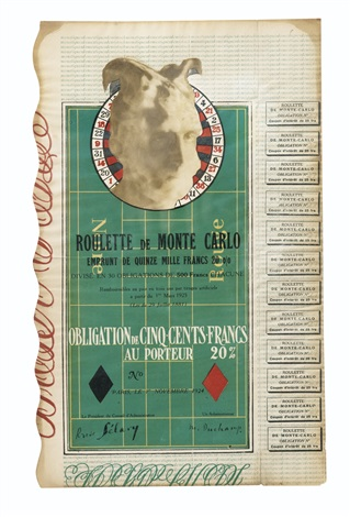 monte carlo bond no 27 by marcel duchamp