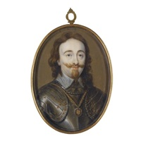 portrait of king charles i of england and scotland by bernard (goupy) lens iii