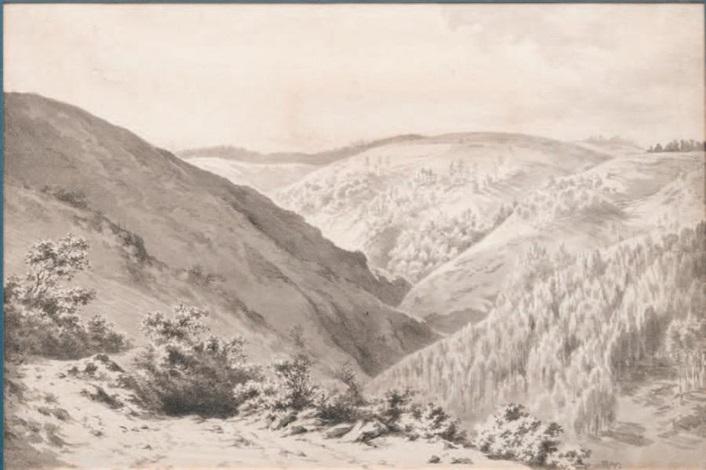 paysage vallonné by jean-jacques de boissieu