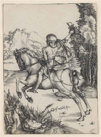 the little courier by albrecht dürer