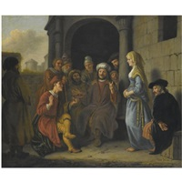 boaz recieves the shoe of inheritance by jan victors