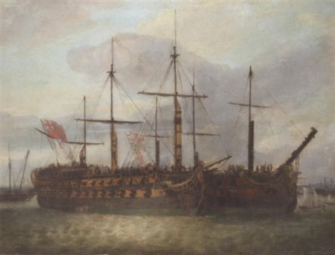 le juste and lamerica in portsmouth harbour by richard livesay