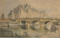 paris, le pont neuf by frank-will