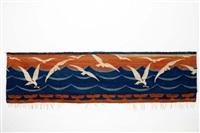 tapisserie möwenschwarm by otto eckmann