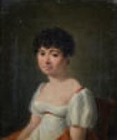 portrait de femme by françois jean (jean françois) sablet