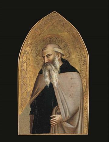 saint anthony abbot by taddeo gaddi