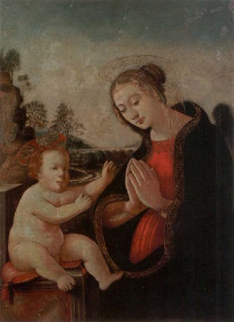 the madonna and child by domenico ghirlandaio