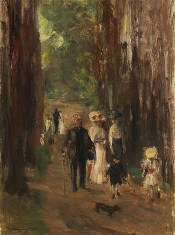 aus dem grunewald by max liebermann