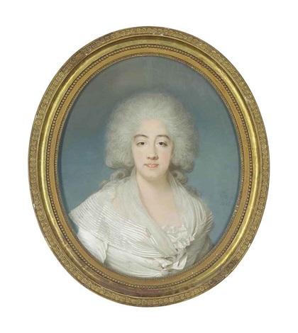 portrait of marie joséphine louise de savoie comtesse de provence by joseph boze