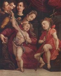 sacra famiglia by giovan battista picchi