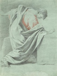 etude d'homme (study) by johann justin preissler