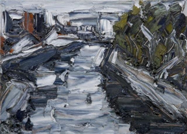 urbanscape dodder near liffey by pat macallister