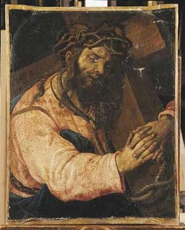 le christ portant sa croix by romanino girolamo romani