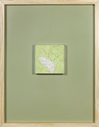map tr 16, map fragment by robert smithson