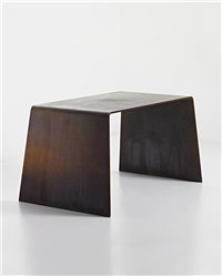 prototype steel furniture table by scott burton