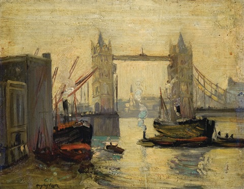 tower bridge london by hayley lever