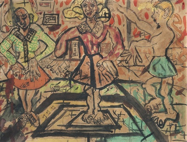 tres personajes by raúl javiel cabrerita cabrera