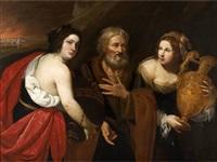 loth et ses filles by francesco de rosa