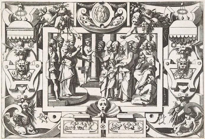 histoire de jason et de la toison d'or (after l. thiry) by rené boyvin