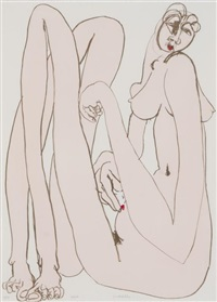 lipstick by brett whiteley