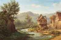 paysage by johann adolf hoeffler