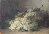 nature morte aux raisins by guillaume romain fouace