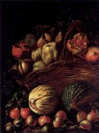 stilleben mit früchterkorb by agostino verrocchi