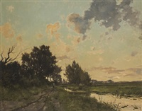 untitled - dutch landscape by dorus arts