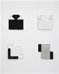four elements from the night and day book by lygia pape