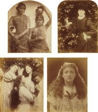 selected images (4 works) by julia margaret cameron
