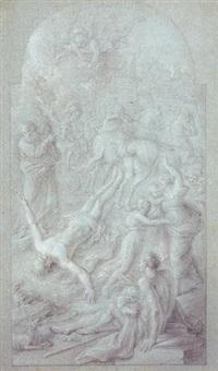 la martyre de saint hippolyte by andrea camassei