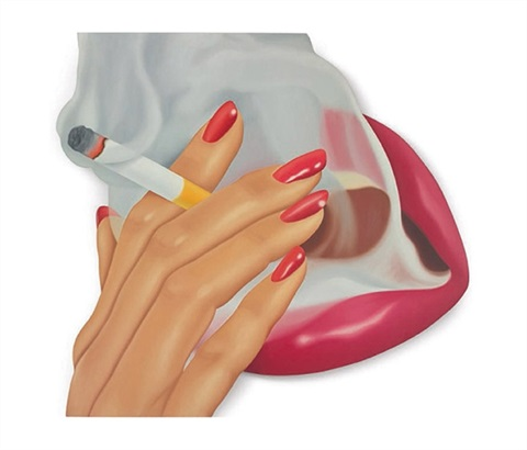 smoker no9 by tom wesselmann