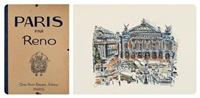 paris (set of 10) by irène reno