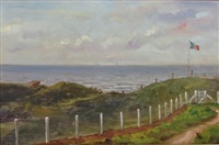 paysage à merville by edouard bisson