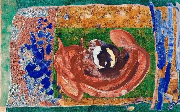 auch etwas zur ikonographie des stillebens by gerhard gerhard ströch altenbourg