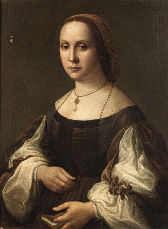 portrait de femme by raphaël