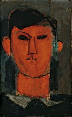portrait de picasso by amedeo modigliani