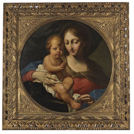madonna mit kind by anonymous italian 18